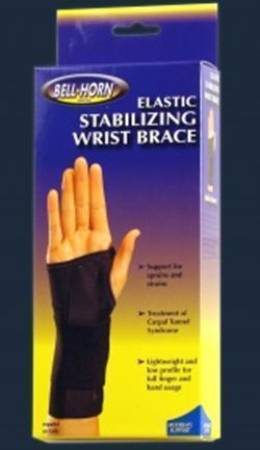 DJO Wrist Brace Elastic Left Hand Small, Each - Model 192S