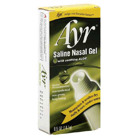 Bf Ascher & Company Ayr Saline Nasal Gel, 0.5oz - Model 278-6762, Each