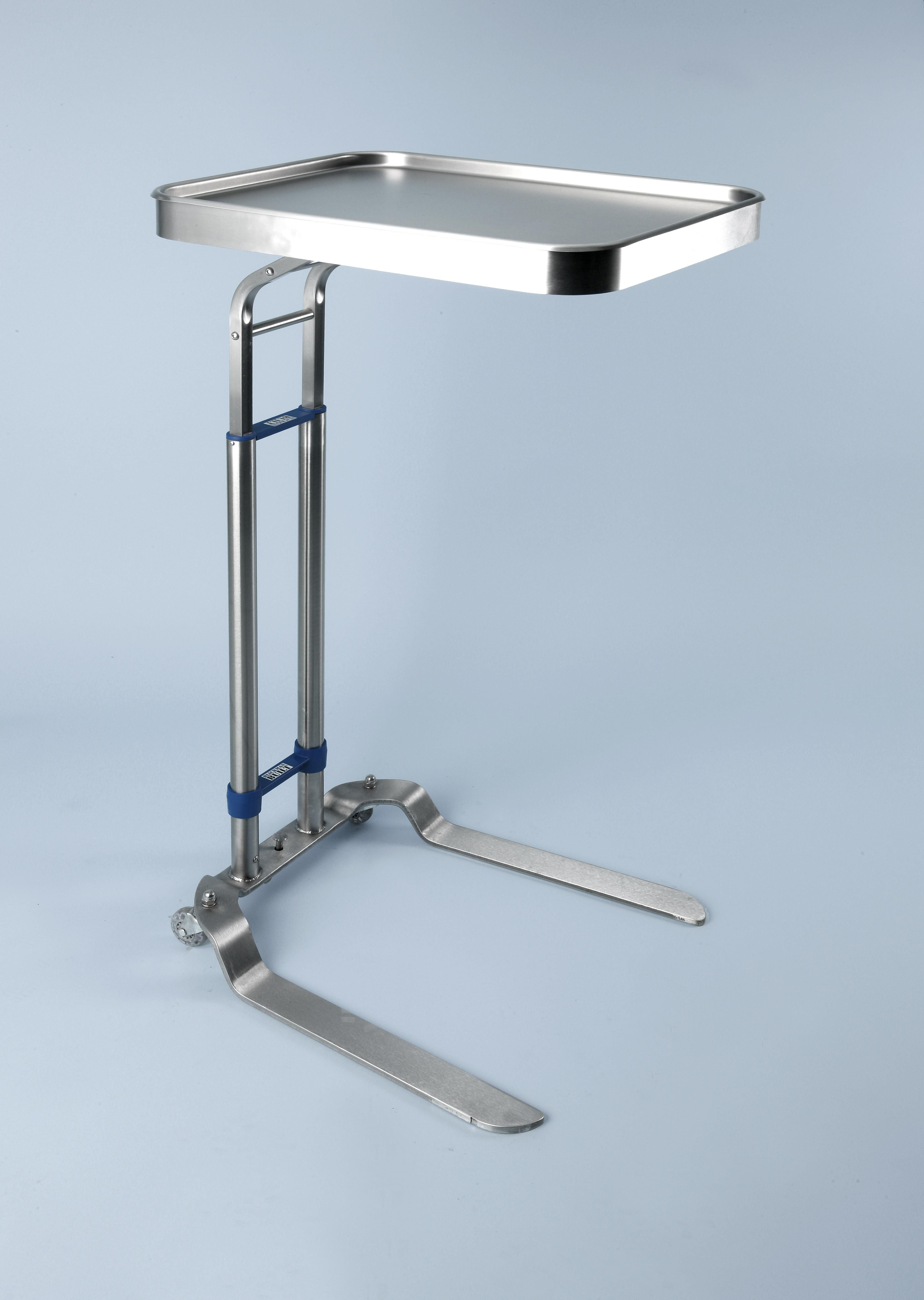 Blickman Health Stainless Steel Mayo Stand - 16