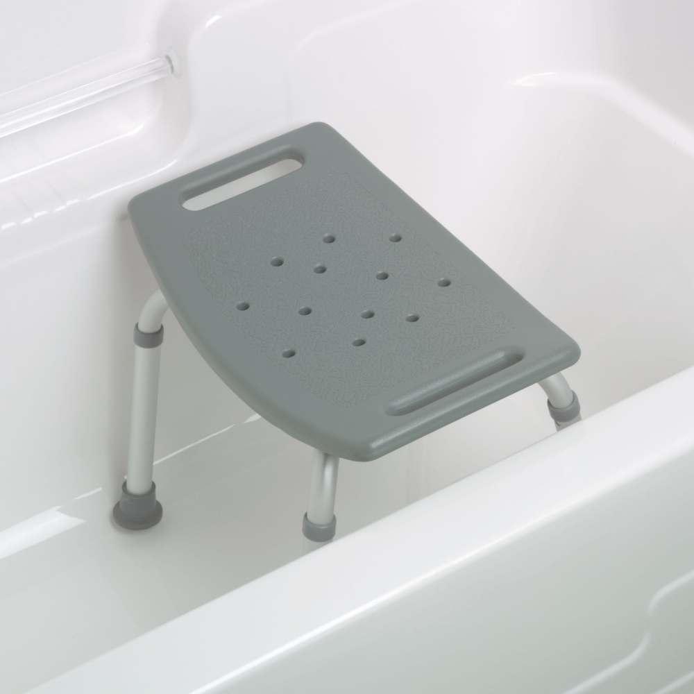 medline aluminum bath benches without back no back gray 250 lb cap each model mds89740rw. Black Bedroom Furniture Sets. Home Design Ideas