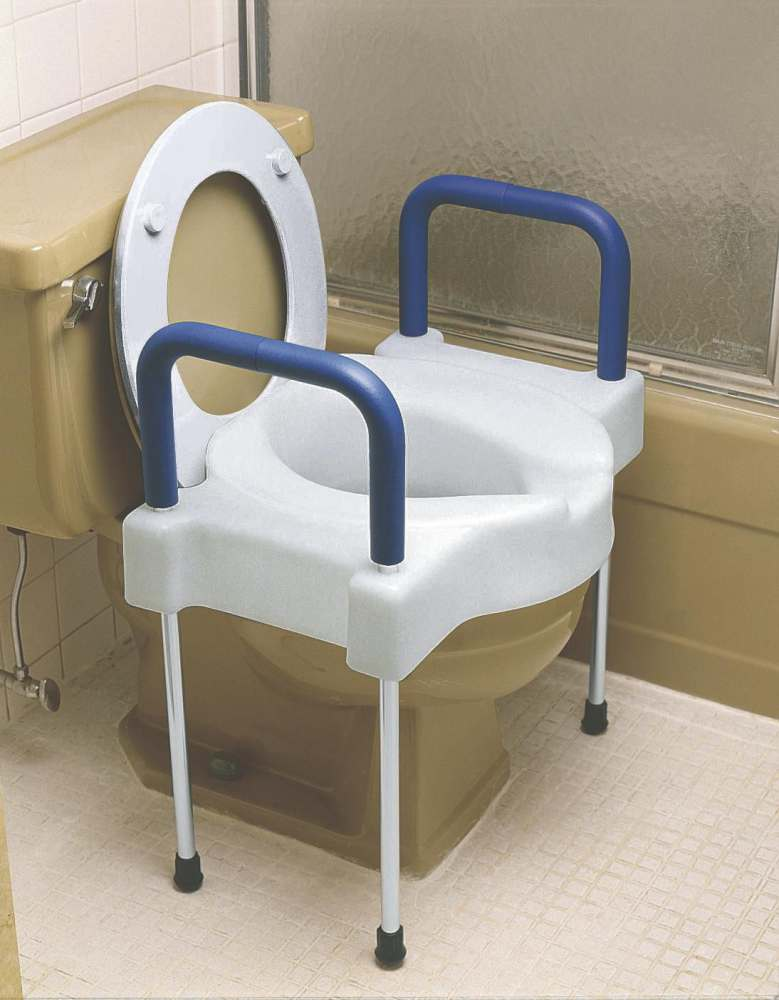 Medline Bariatric X Wide Raised Toilet Seat Elev W