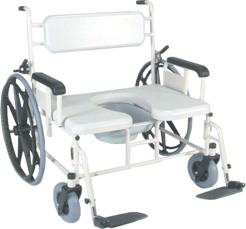 Medline Convaquip Bariatric Shower Chair - 750 Lb Weight Cap, Each ...