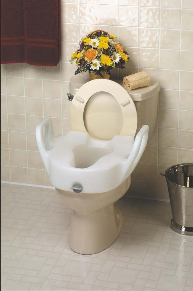 Medline Bariatric X Wide Raised Toilet Seat Elev W