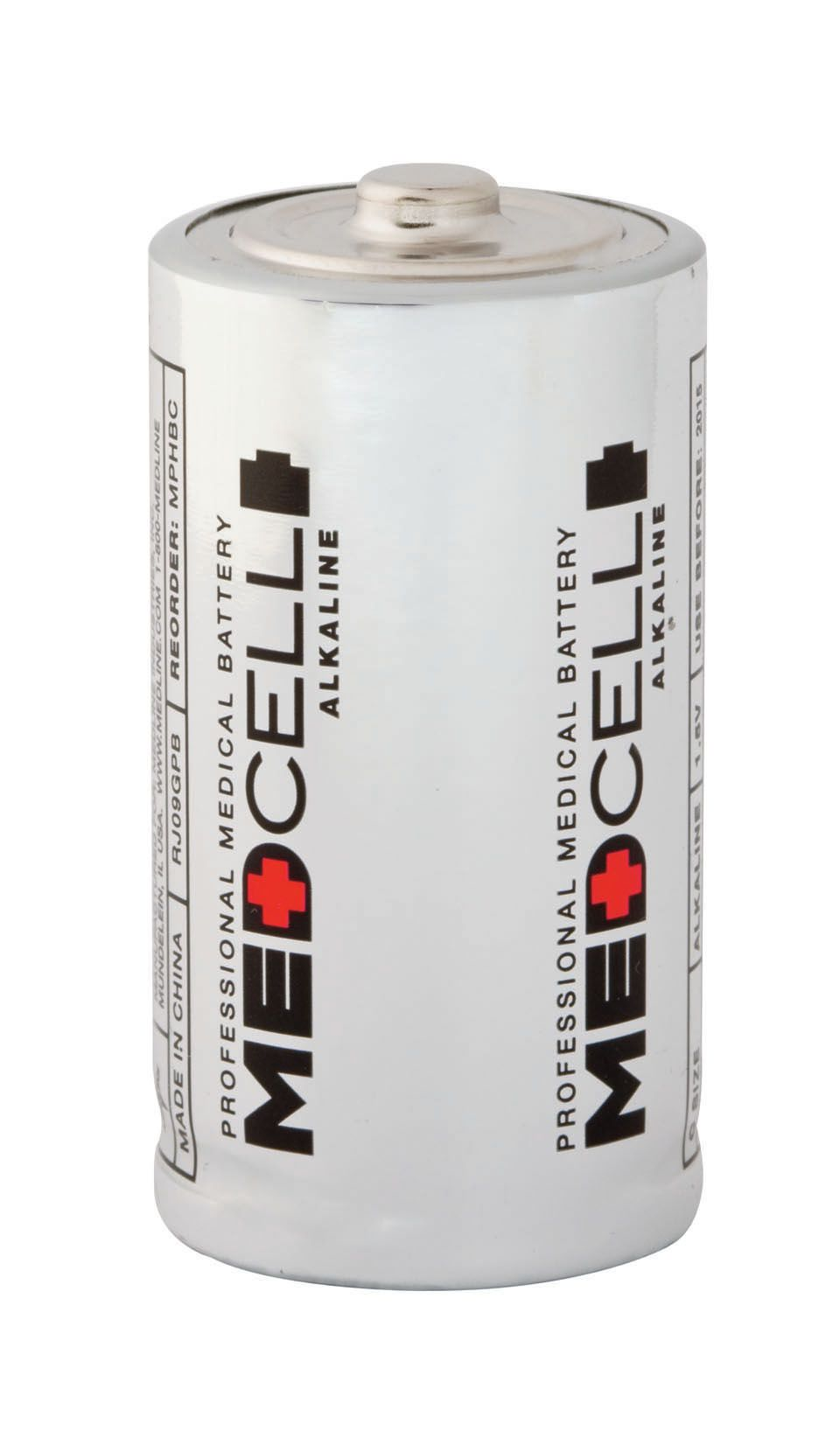 Medline MedCell Alkaline Battery - Battery, 1.5V, Each - Model MPHBD