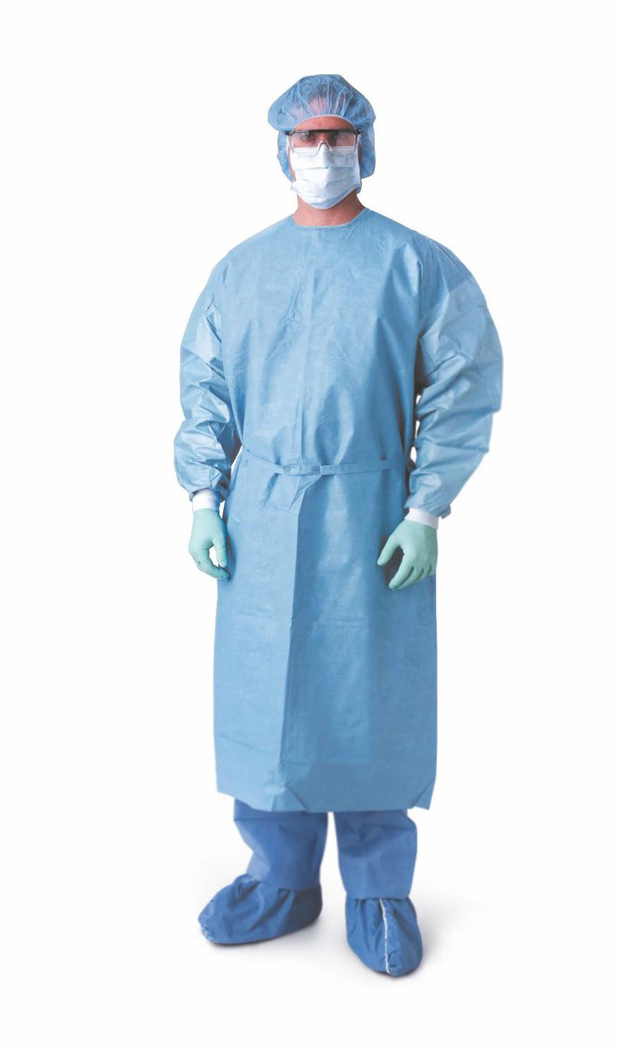 Medline Prevention Plus Isolation Gown - Prev Plus, Chemo, Knitcf ...