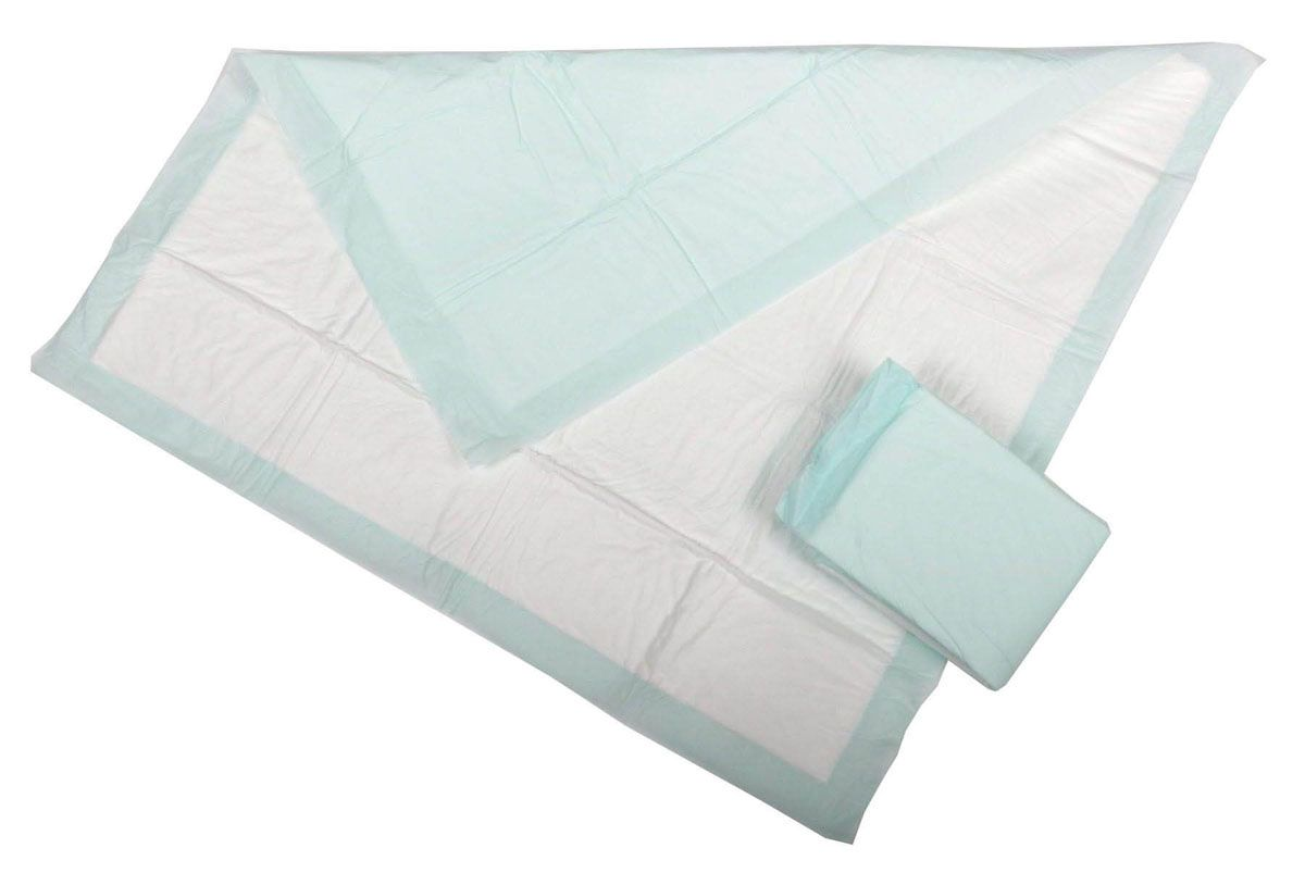 Medline Protection Plus Polymer Underpad - Ultra, w/ Polymer, 30X30In, Box of 100 - Model MSC282045