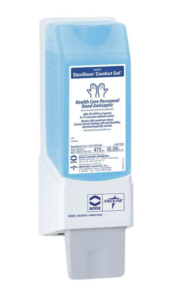 Sterillium Rub Dispenser ~ Medline sterillium comfort gel hand sanitizer ml