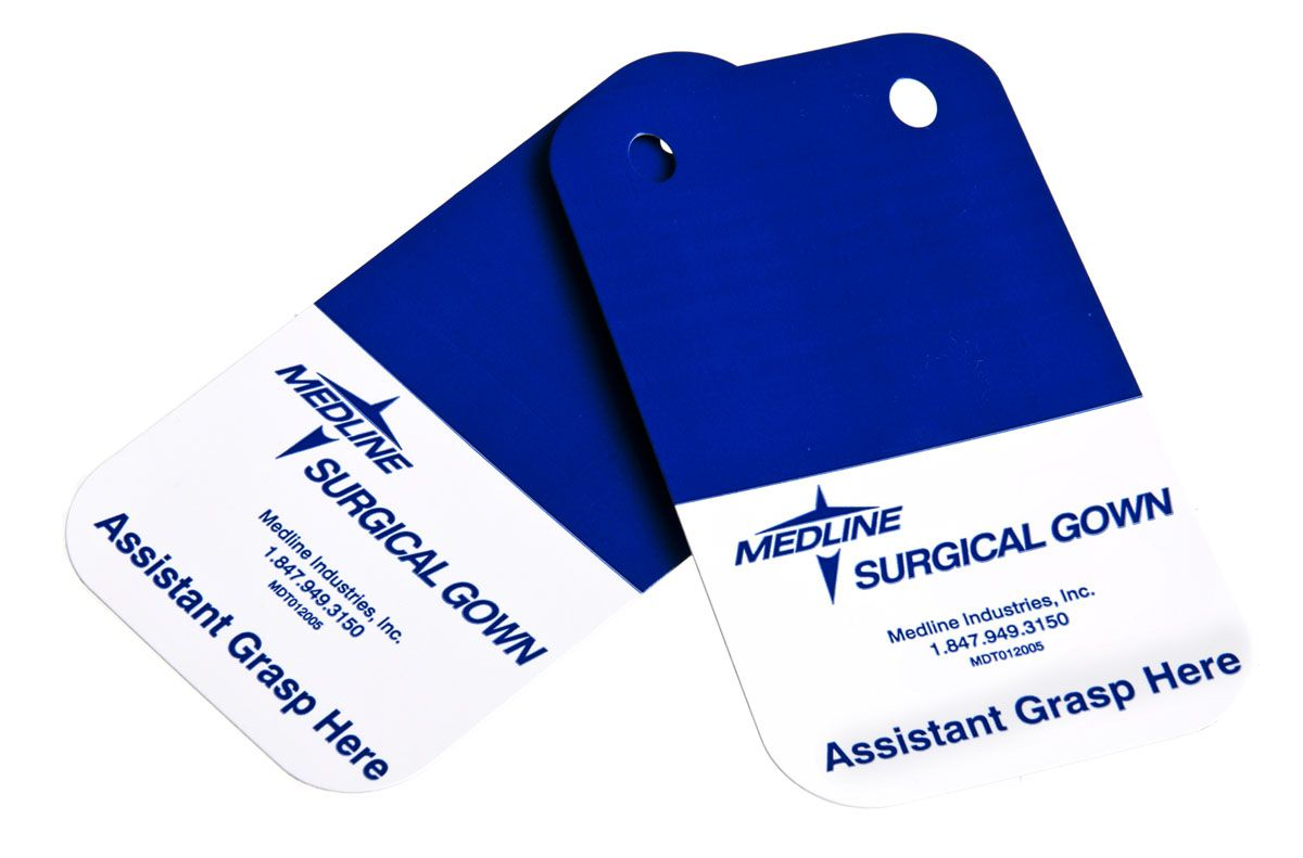 Medline Surgical Gown Sterilization Pass Card, Pack of 500 - Model MDT012005