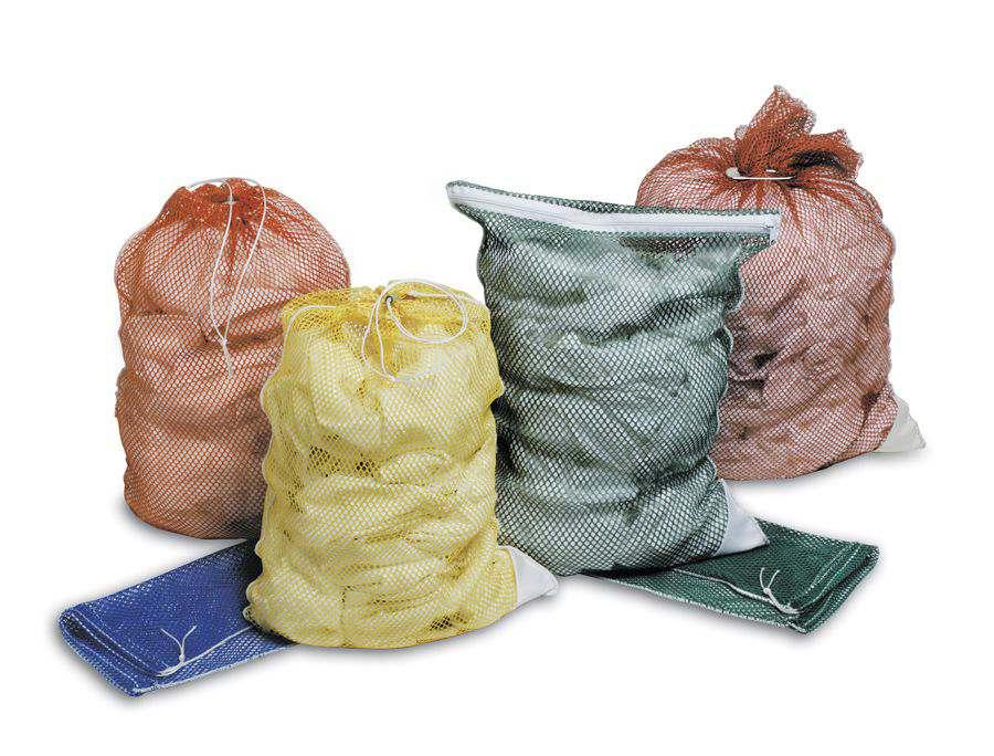 Medline washable mesh laundry bag net 18 x30 cord white box of 12 model mdt1830md - X laundry bags ...