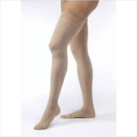 BSN Medical Jobst Anti-embolism Stockings, Thigh-high X-Large Honey Closed Toe - Model 115467