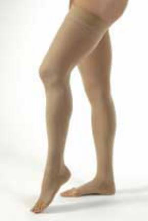 BSN Medical Jobst Compression Stockings, Thigh-high X-Large Beige Open Toe - Model 115289