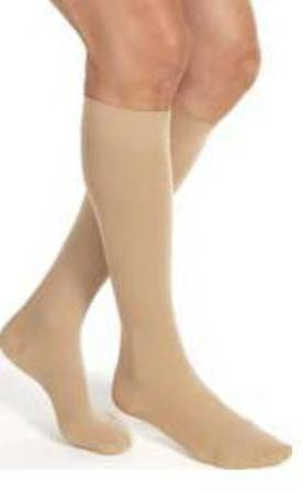 BSN Medical Jobst Relief Compression Stockings, Knee-high Medium Black Closed Toe - Model 114731