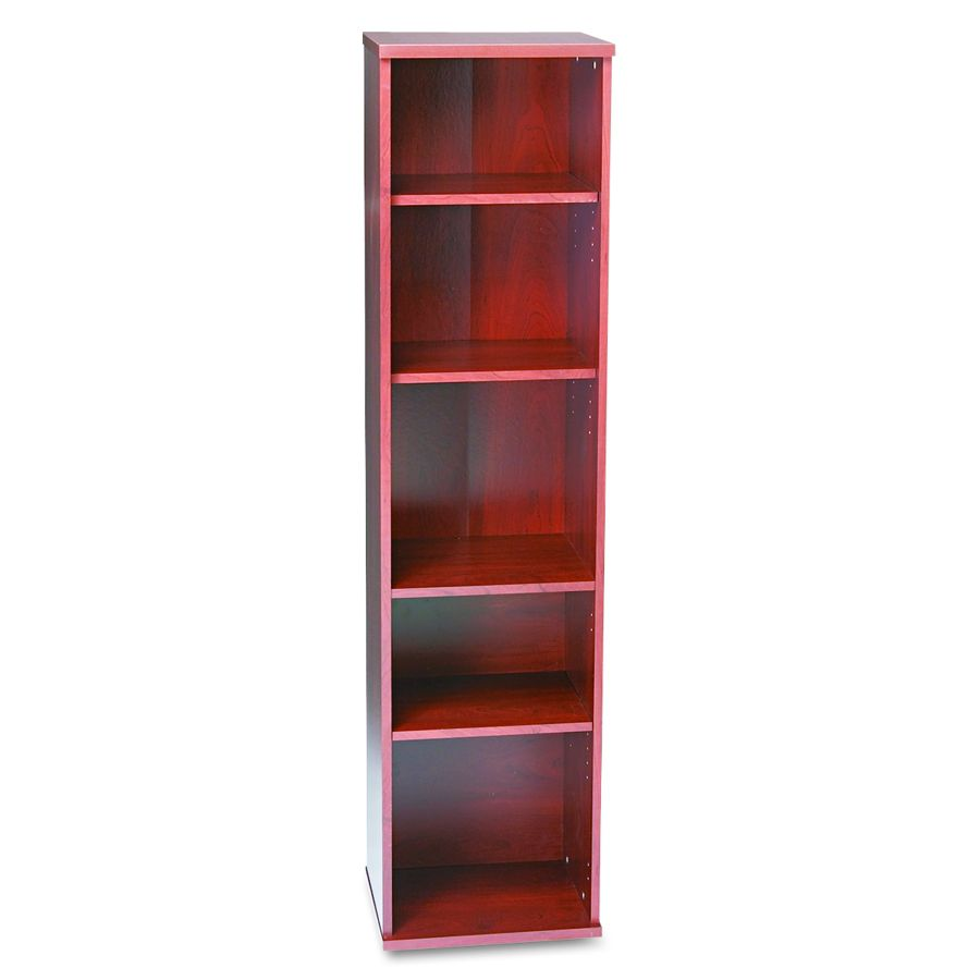 Bush Industries BOOKCASE, OPEN SINGLE, MCH, Each - Model WC72412