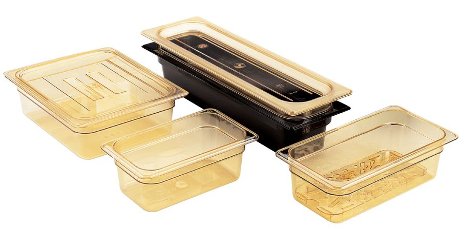 Cambro Non-Stick Plastic Pan - Food, 12 4Quart, 8