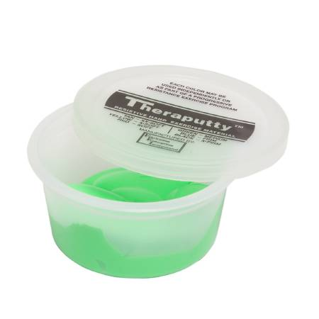 Cando Theraputty Therapy Putty, Medium 2 oz., Green, Each - Model 100902