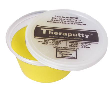 Cando Theraputty Therapy Putty, X-Soft 2 oz., Yellow, Each - Model 100900