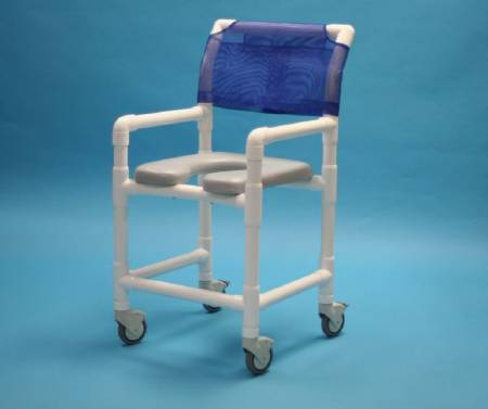 Care Product Deluxe Shower Chair, With Backrest 20 Inch, Each - Model 520SX
