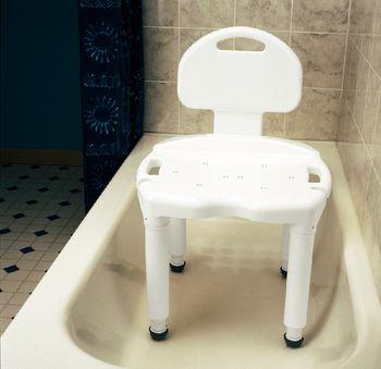Carex Universal Bath Seat - Bench w/out back - Item #920303