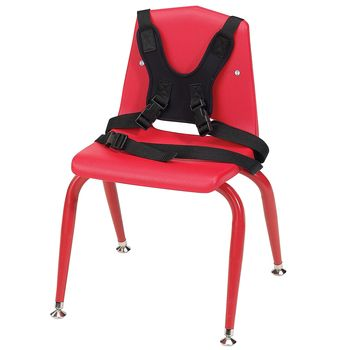 Classroom Activity Chair - Small, Red - Model 557690