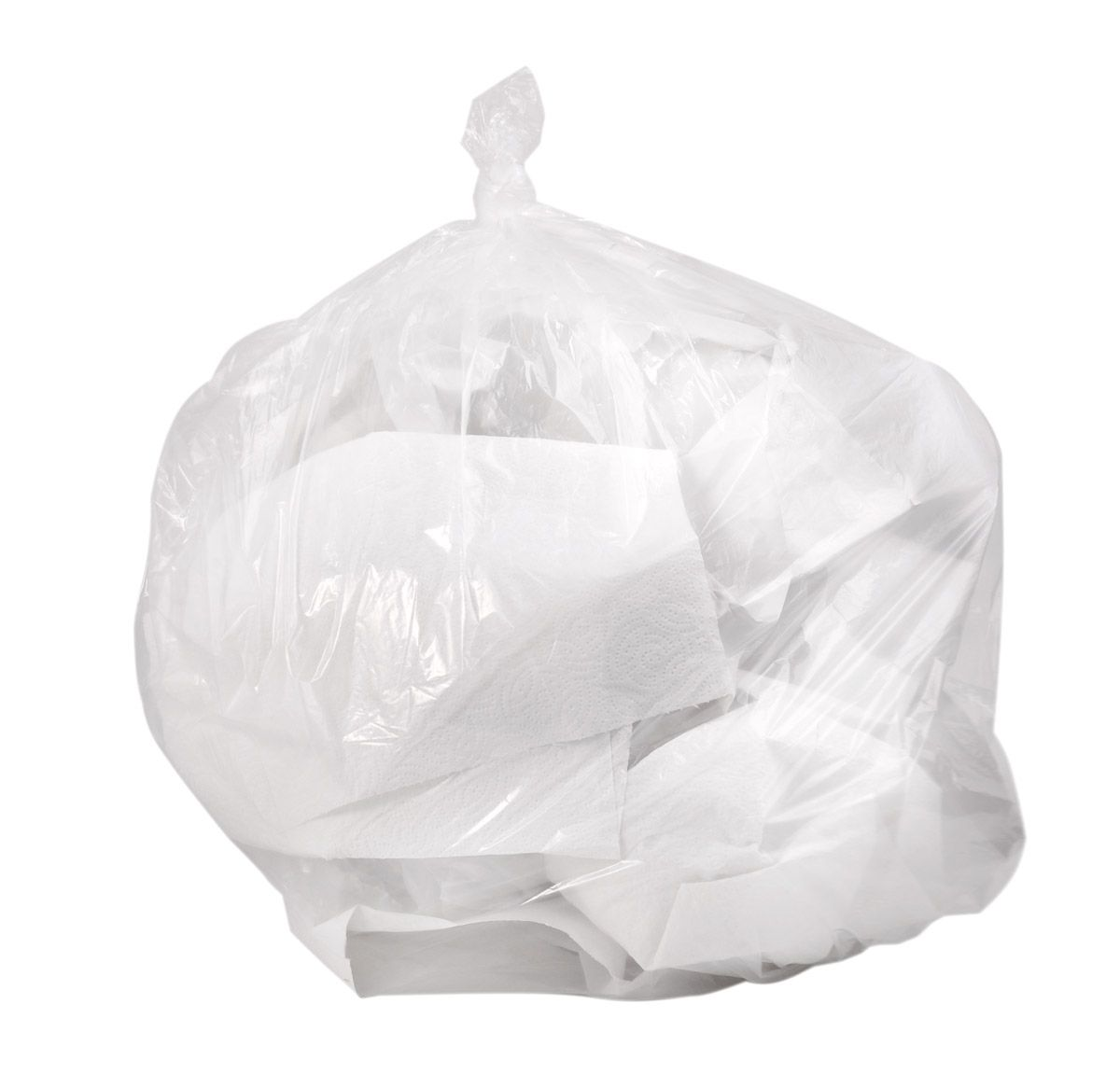 Colonial Bag High Density Clear Liner - 30