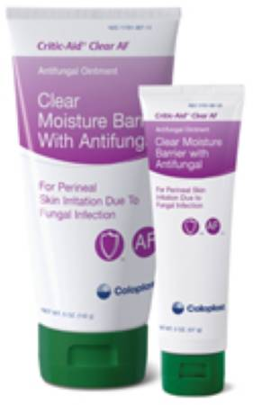 Coloplast Critic-Aid Clear AF Antifungal, 2 oz. Ointment, Box of 12 - Model 7571