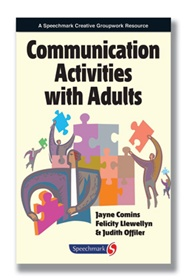 Communication Activities with Adult - Book, Communication Activities w/ Adults, Each - Model 82414