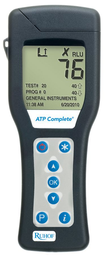 Contamination Monitoring System Atp Complete - Atp Cmplt Contanimation Monitring, Each