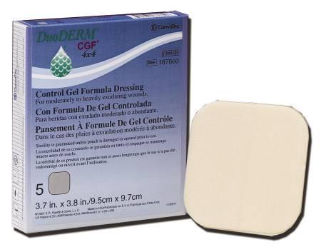 Convatec DuoDERM CGF Hydrocolloid Dressing, Hydrocolloid 8 X 8 Inch ...