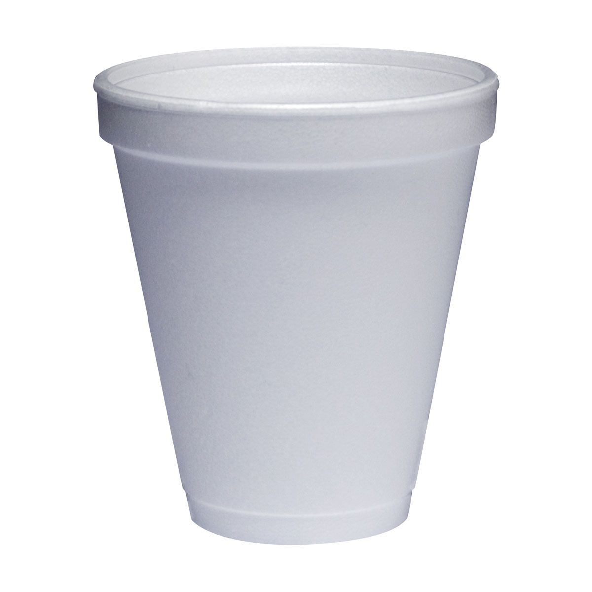 Dart Disposable Styrofoam Drinking Cup - 12 Oz, Box of 1000 - Model 12J12
