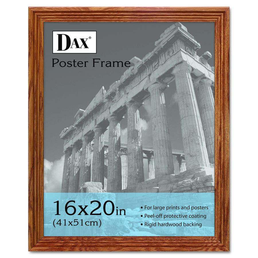 16 x 16 black poster frame
