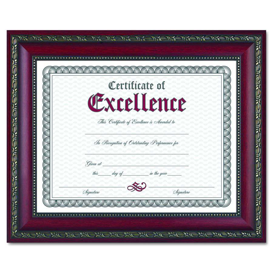Dax Manufacturing World Class Document Frame - 8.5X11, Rsd, Each ...