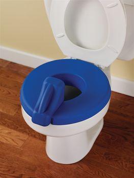 Prime Deluxe Padded Toilet Seat Reducer Blue Item 566396 Evergreenethics Interior Chair Design Evergreenethicsorg
