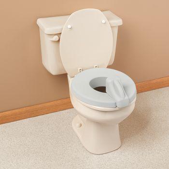 Deluxe padded toilet seat reducer grey item 550328 for Amazon inodoros