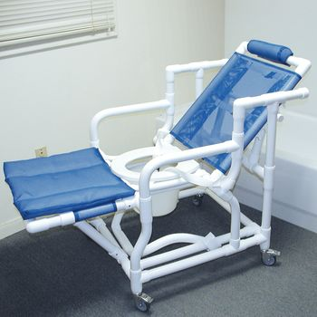 & Deluxe Reclining Shower/Commode Chair w/ Pail - Item #927686 islam-shia.org