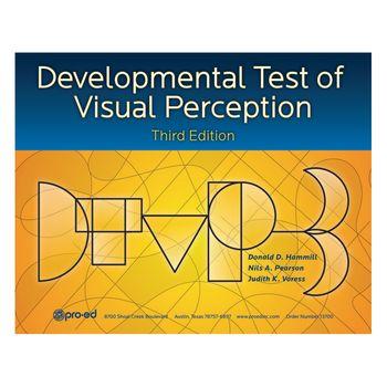 Developmental Test of Visual Perception  DTVP-3  - Complete Kit - Item    Visual Perception Test