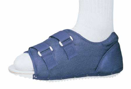 DJO PROCARE Post-Op Shoe, Medium Blue Male, Each - Model 79-90185