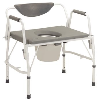 Drive Bariatric Drop-Arm Commode - Item #559247
