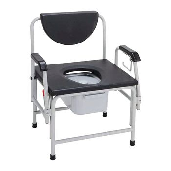 Drive Extra Large Drop-Arm Commode - Heavy Duty - Item #559244