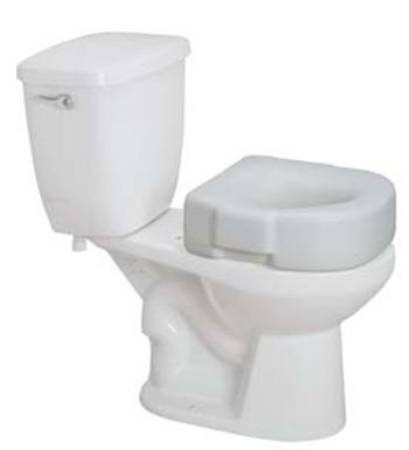 Stupendous Drive Medical Raised Toilet Seat White 300 Lbs Pkg Of 3 Pdpeps Interior Chair Design Pdpepsorg