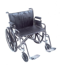 Drive Medical Sentra Deluxe Heavy-Duty Wheelchair - Wheelchair 24