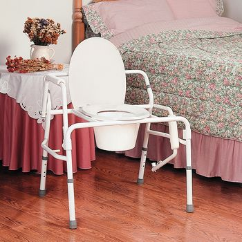 Drop-Arm Commode - Base: 25