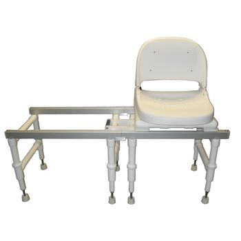 Echo Sliding Transfer System - Sliding Transfer Chair w/ Swivel Seat - Item #081578582