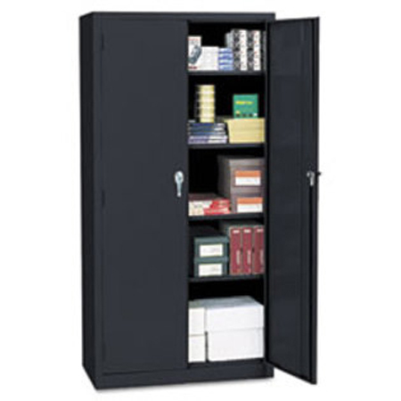 Economy Assembled Storage Cabinet, Black - Model 743386, Each