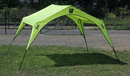 Ergodyne Portable Lightweight Utility Work Shelter/Tent - Model 12920 Each & Ergodyne Portable Lightweight Utility Work Shelter/Tent - Model ...