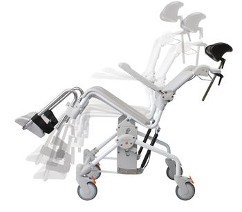 Fabulous Etac Swift Mobile Shower Commode Chair Item 081499524 Download Free Architecture Designs Scobabritishbridgeorg