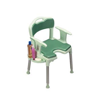 Awe Inspiring Etac Swift Shower Chair Stool W Back Arm Rests Item 557394 Download Free Architecture Designs Scobabritishbridgeorg