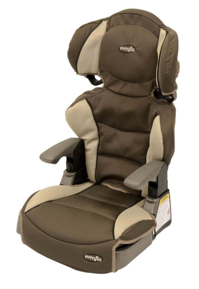 evenflo products big kid deluxe booster car seat 30 100lbs each model 3091198. Black Bedroom Furniture Sets. Home Design Ideas