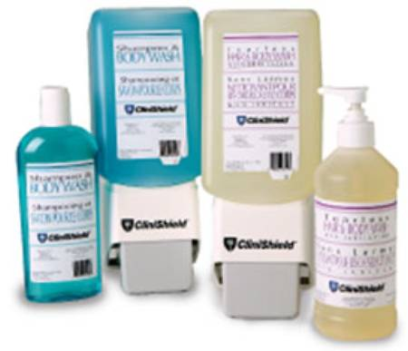 Evonik Stockhausen CliniShield Shampoo and Body Wash, 1 Gallon Mild, Fresh and Clean Squeeze Bottle, Each - Model 34324