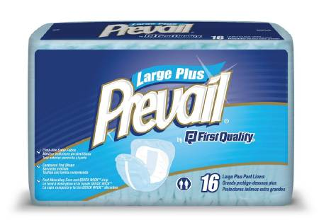 First Quality Prevail Pant Liner, 8 X 13 Inch, Small, Pkg of 52 - Model PL-100/1