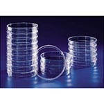 Fisher Scientific Petri Dishes with Clear Lids, 100 x 15mm - Model 08-757-12, Case of 500